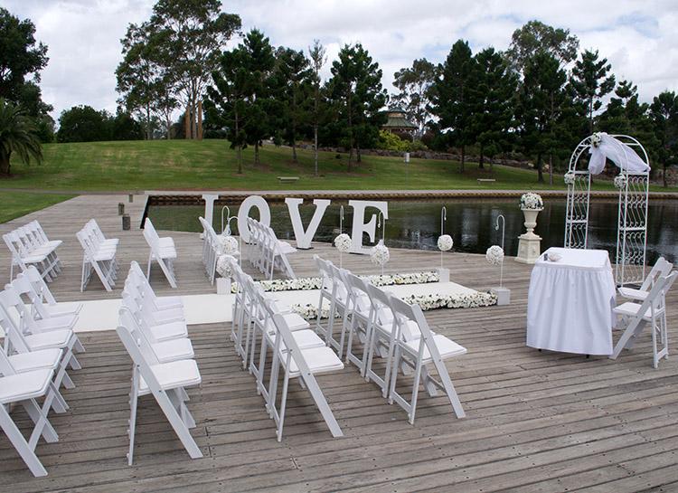 Wedding Ceremony Package Eternity Setup