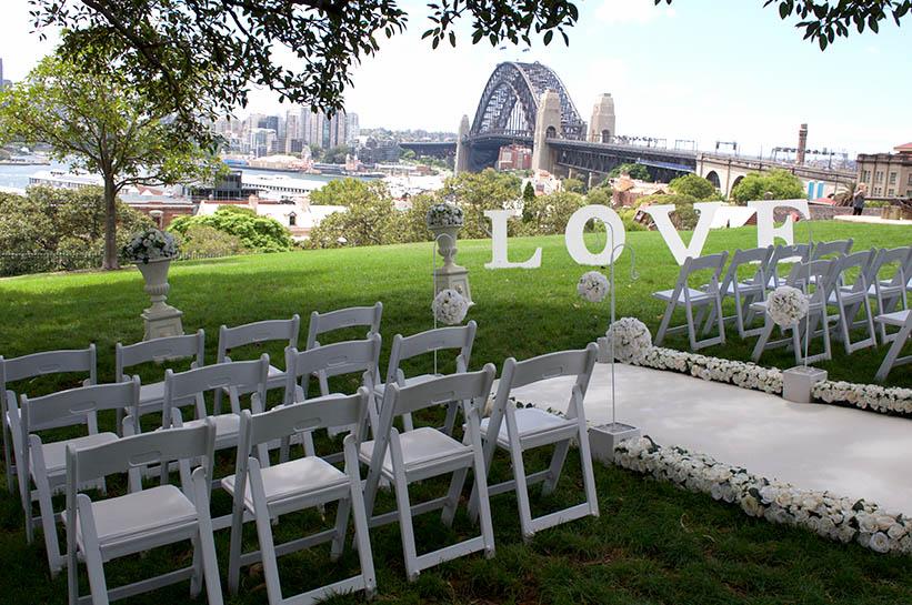 Observatory hill wedding ceremony adorable wedding concepts for Au jardin wedding package