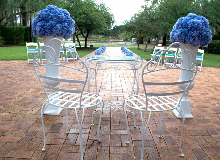 Wedding Signing Table & Chairs