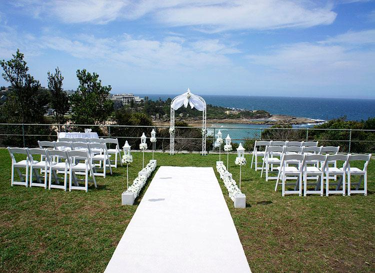 Harbour View Wedding Ceremony