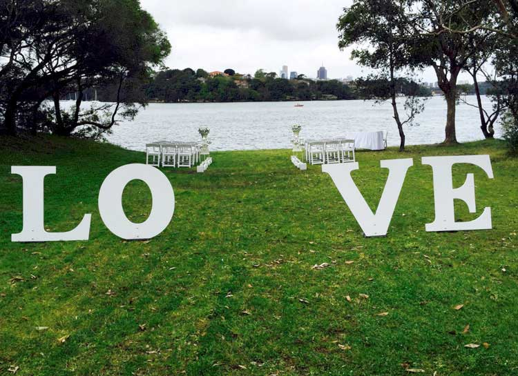 Clarkes Point Reserve Wedding Venue Sydney