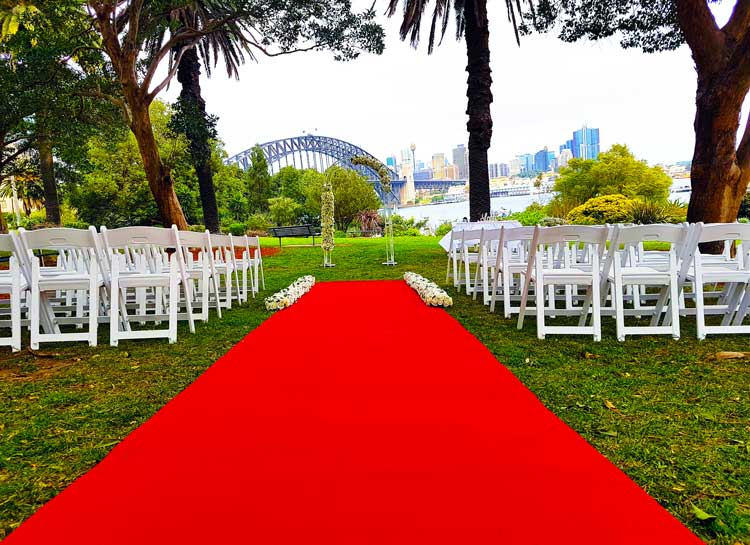 Harbour View Wedding Ceremony